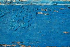Blaue hölzerne Beschaffenheit entziehen Sie Hintergrund Stockbilder