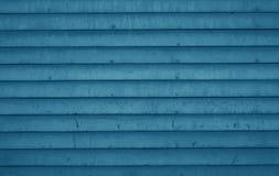 Blaue hölzerne Planken Stockfotos