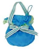 Blaue Handtasche Lizenzfreies Stockfoto