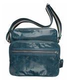 Blaue Handtasche Stockfotos