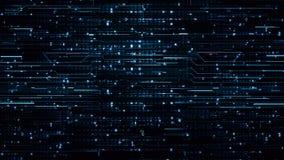 Blaue High-Teche Hintergründe Digital lizenzfreie stockfotos