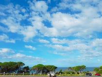 Blaue Himmel stockfotos