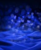 Blaue Hintergrund-Zusammenfassung Lizenzfreies Stockbild