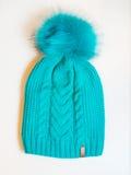 Blaue Kappe stockbild