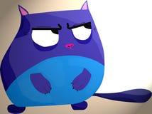 Blaue Katze vektor abbildung