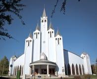 Blaue Kirche Lizenzfreies Stockfoto