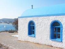 Blaue Kirche Stockfotos