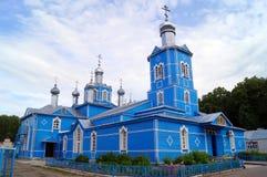 Blaue Kirche in Bolgar, Russland Lizenzfreies Stockfoto