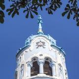 Blaue Kirche in Bratislava Stockbild