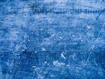 Blaue konkrete Zementbeschaffenheit Kratzer, Korn, Geräuschrechteckstempel Setzen Sie Illustration über jedem möglichem Gegenstan Lizenzfreie Stockfotografie