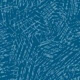 Blaue Kratzer Stockfoto