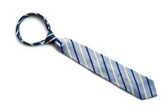 Blaue Krawatte lizenzfreies stockbild