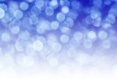 Blaue Kreisreflexionen Lizenzfreie Stockbilder