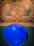 Blaue Kugel Stockbilder