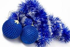 Blaue Kugel Stockfotografie