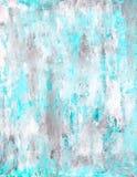Blaue Kunst-Malerei Lizenzfreie Stockfotografie