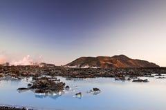 Blaue Lagune Stockbild