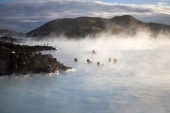 Blaue Lagune, Island Lizenzfreies Stockbild