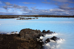 Blaue Lagune in Island Lizenzfreies Stockfoto
