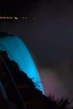 Blaue Lava Stockfoto