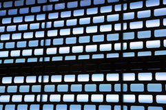 Blaue Leuchte Lizenzfreie Stockfotografie