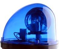 Blaue Leuchte Stockfotografie