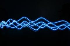 Blaue Leuchte Stockfotos