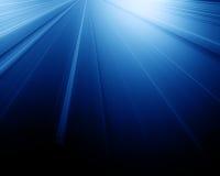 Blaue Leuchte von oben