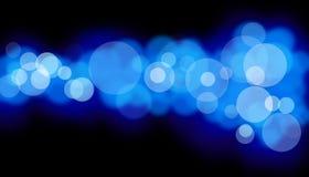 Blaue Leuchten Lizenzfreies Stockbild
