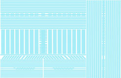 Blaue Linien abstrakter Hintergrund Lizenzfreie Abbildung