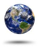 Blaue Marmorplanetenerde lizenzfreie stockbilder