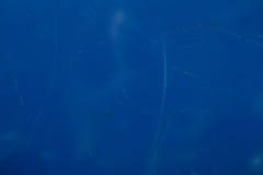Blaue Metallhintergrundbeschaffenheit Lizenzfreie Stockfotos