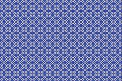 Blaue Mosaik azulejo Beschaffenheit in Lissabon Lizenzfreies Stockfoto