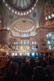 Blaue Moschee Stockbild