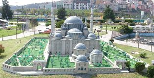 Blaue Moschee, Frühlingsansicht Lizenzfreie Stockfotos