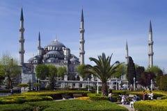 Blaue Moschee in Istanbul stockfotos