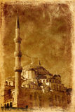 Blaue Moschee in Istanbul Stockfotografie