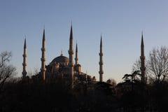 Blaue Moschee in Istanbul die Türkei Stockbilder