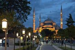 Blaue Moschee, Istanbul, die Türkei Lizenzfreies Stockfoto