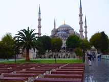 Blaue Moschee, Istanbul, die Türkei Stockfotos