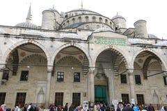 Blaue Moschee in Sultanahmet in Istanbul, die Türkei Lizenzfreies Stockbild