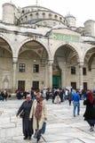 Blaue Moschee in Sultanahmet in Istanbul, die Türkei Lizenzfreie Stockbilder