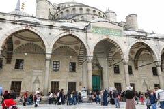 Blaue Moschee in Sultanahmet in Istanbul, die Türkei Lizenzfreies Stockfoto