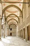 Blaue Moscheen-Kolonnade, Istanbul lizenzfreies stockfoto