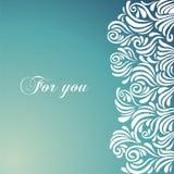 Blaue Muster. Stockbild