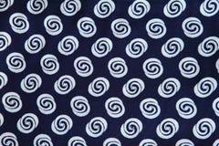 Blaue Musterserie Stockbilder