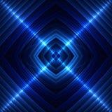 Blaue nahtlose Fliese Stockbild