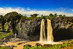 Blaue Nile Falls, Äthiopien Lizenzfreies Stockbild