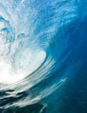 Blaue Ozean-Welle stockfotos