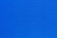 Blaue Pappbeschaffenheit Lizenzfreie Stockfotografie